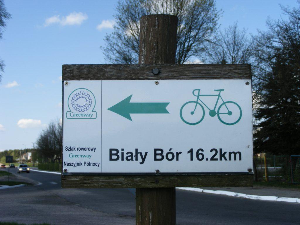 Oznaczenie trasy rowerowej